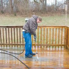 Fall Deck Maintenance